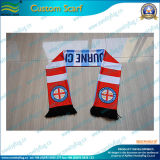 Spandex Knitted Polyester Scarf для Fans (T-NF19F10010)