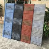 Mosaico de la parte superior plana impermeabilización de cubiertas de metal de hoja de acero galvanizado Teja