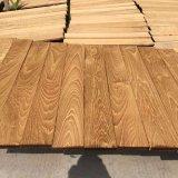 Ricos en suelo de madera natural rico de la teca del petróleo y del hierro