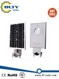 Indicatore luminoso di via solare con il LED e comitato solare