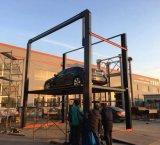 Vehículo de 4 postes elevador hidráulico de elevación de coche