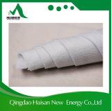 100% полиэстер игольчатый перфорированного нетканого материала Geotextile ткань