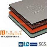 Panneau composé en aluminium de couche de PVDF/PE