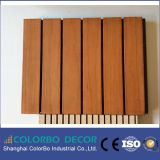 Низкочастотно поглотите деревянную Grooved акустическую панель стены