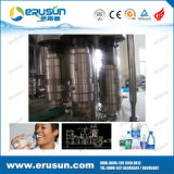 El llenado puro lavado de agua y máquina que capsula