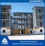 Villa di lusso personalizzata prefabbricata della struttura d'acciaio