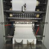 V doblan la máquina de papel de papel de la toalla de la mano