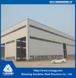 Полуфабрикат здание стальной структуры с строительным материалом Q235 Q345