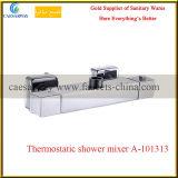 El latón cromado Sanitarios baño ducha grifo mezclador termostático