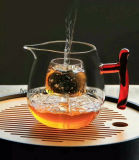 Glaskaffeetasse/hitzebeständiges Borosilicat-trinkendes Glas-Tee-Cup
