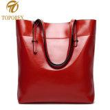 女性の肩PUの革ハンドバッグの昇進の余暇のショッピングギフト袋