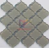 Azulejos del mosaico del cristal de agua del modelo de flor (CFW57)