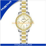 공장 가격을%s 가진 새로운 디자인된 여자 시계 석영 시계