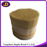 60%-90% cerda branca descorada cabelo do porco das partes superiores para a escova do artista