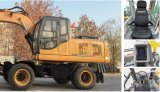 Directamente de fábrica Hengte Excavadora de ruedas de 12 toneladas para la venta 0.5m³