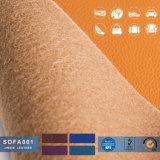 Cuoio non tessuto del PVC, materiale del tessuto del cuoio della mobilia del PVC, cuoio sintetico del PVC