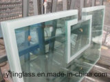 Painel de vidro temperado de cerâmica frita de cor