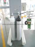 4L de cilindros de gás de aço com válvula de gás cromada