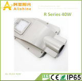O corpo da lâmpada Aliuminum 40W todos em uma rua com preço de fábrica da luz solar