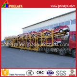 Capacidade de 16 Unidades com estrutura aberta Car Transporter semi reboque