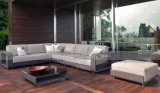 Le sofa extérieur confortable de meubles du modèle Mtc-090 neuf place le jardin