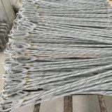 La lega di alluminio ha preformato il cavo del morsetto ADSS/Opgw della sospensione, nessun'armatura Rod