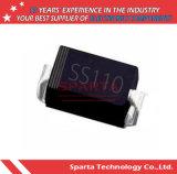 Diodo de retificador de Ss12 Ss14 Ss16 Ss110 Schottky