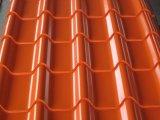 금속 아연 지붕 장 Colorbond에 의하여 직류 전기를 통하는 물결 모양 장