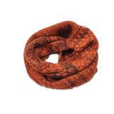 Padrão de tricô cachecol redondo