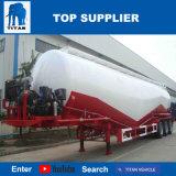 タイタンの手段-セメント・サイロタンク40 M3乾燥したバルクトレーラーの製造業者の荷を下すバルク積み