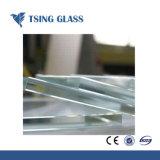 Le verre trempé clair de 8 mm pour mur rideau/Balustrade/Les mains courantes