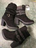 La mujer/Señoras de tacón alto botas de invierno, Moda Mujer/Señoras botas, botas.