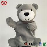 De grijze Zachte Gevulde Handpop van de Baby van het Stuk speelgoed van de Pluche van Ce
