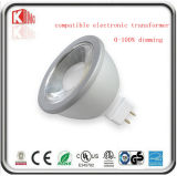 5With7W Dimmable 12V LED MR16 Spotlight met Gu5.3 Base