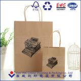 Bolso de compras del papel del regalo de la alta calidad
