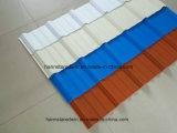 Se suministra de fábrica Precio más bajo extruido PVC compuesto techos a prueba de agua Material Chapa