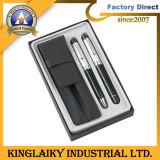 Grande conjunto de canetas clássico com caneta de couro titular na caixa de oferta (NGS-1002)