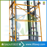 7m vertical de la table élévatrice hydraulique des chaînes de transport de marchandises