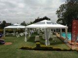 Tienda hexagonal al aire libre de la pagoda de 100 personas para el partido de jardín privado en Kenia