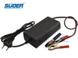 Carregador de bateria universal do preço de fábrica 7A de Suoer 12V com modalidade trifásica (SON-1207)
