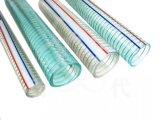明確なPVC螺線形の鋼線は吸引の排出のための適用範囲が広い管のホースを補強した