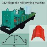 400mm FarbeRoofing Ridge-Schutzkappen-Stahlrolle, die Maschine bildet