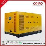 Leiser/geöffneter 88kw Typ elektrischer Strom-Dieselgenerator mit Lovol Motor