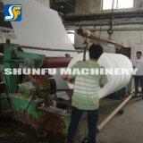 Papierindustrie-aufbereitete Papiermaschine, die riesige Rolle bildet, Maschinerie produzierend