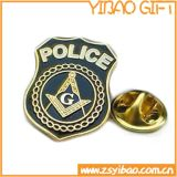 Emblema promocional em metal com chapa de prata (YB-p-001)