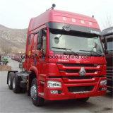 HOWO 6X4 트랙터 트럭 336HP Sinotruk 50ton 트랙터 트럭