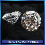 白く総合的なダイヤモンドのペンダントのための緩い立方ジルコニアの宝石のカラットのダイヤモンド