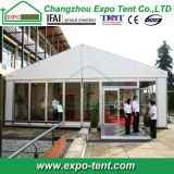 Tente en aluminium de chapiteau de bâti avec le mur en verre