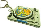 Porte-clés en plastique pour porte-clés en caoutchouc