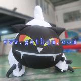 Halloweenの黒猫モデル